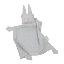 Fabelab | Knuffeldoekje Cuddle Bunny Ice Grey