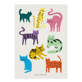 Studio Rainbow Prints - A4 poster Poezen