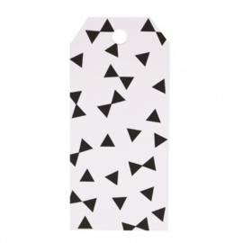 Gift Tags Black Bows (12 stuks)