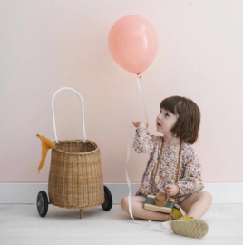 Olli Ella Luggy Basket Boodschappenwagen - Naturel
