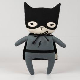 Bundis | Knuffel Bundis Superhero (staalgrijs)