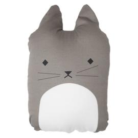 Fabelab knuffel/kussen Cuddly Cat