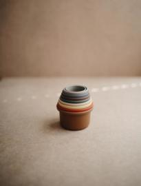 Mushie | Stapeltoren - Retro