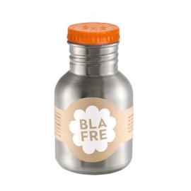 Blafre | Drinkfles RVS 300 ml (oranje dop)