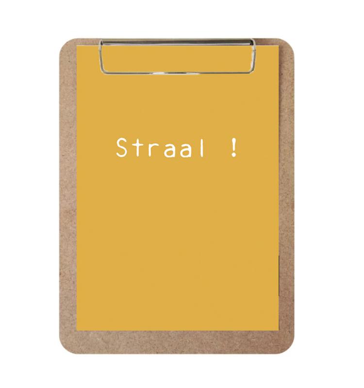Label-R | Klembord Met Print Straal!