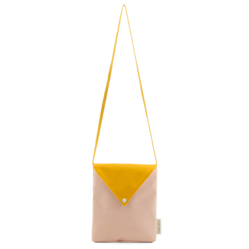 Sticky Lemon schoudertasje Envelope (soft pink)