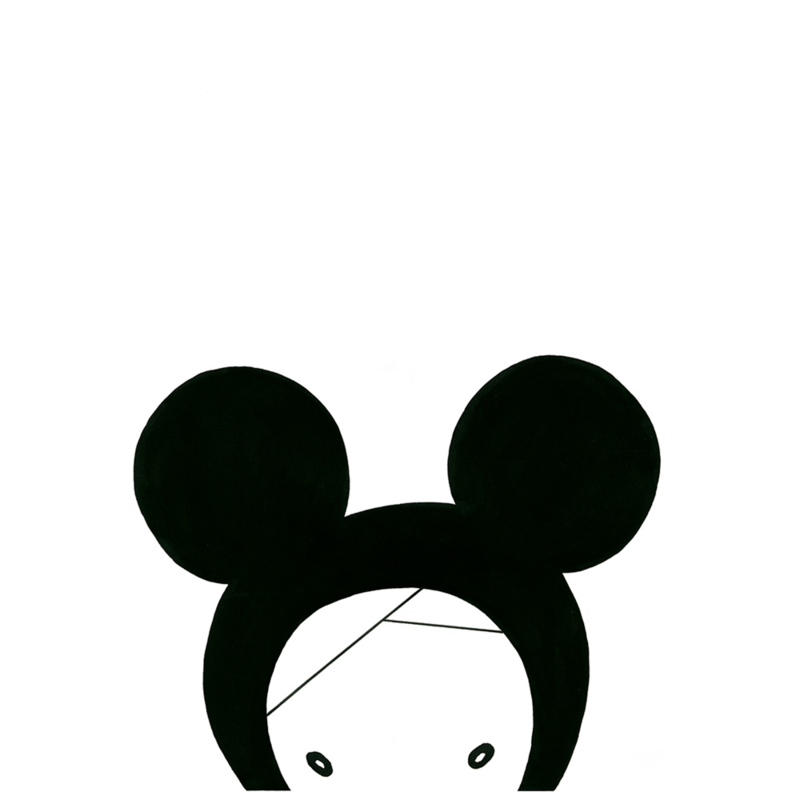 Victoria Lilly | A4 print All I See Is Ears