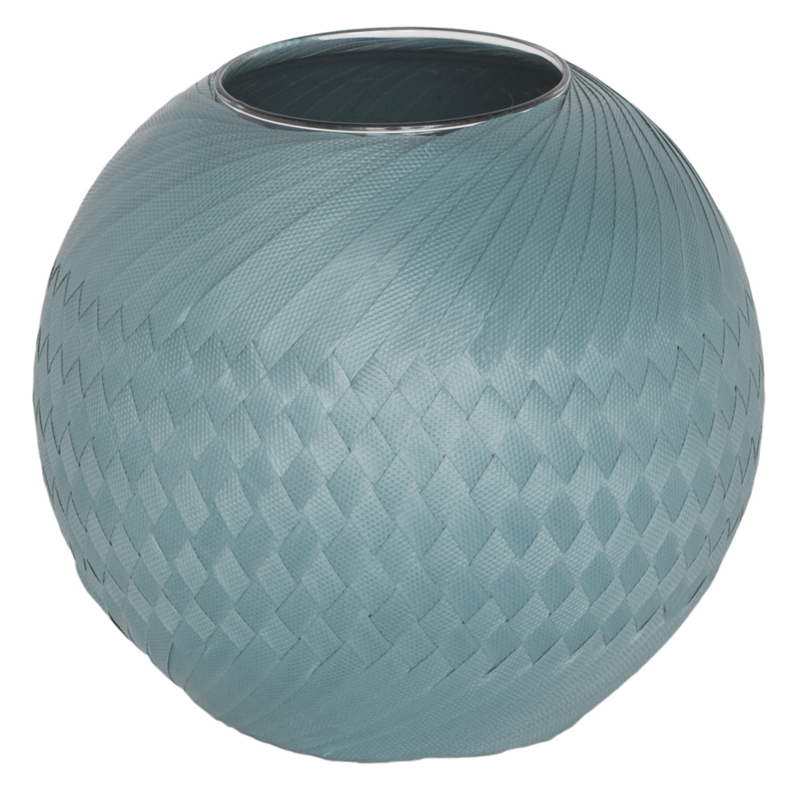 Handed By vaas Bowl 25 cm (stone blue)