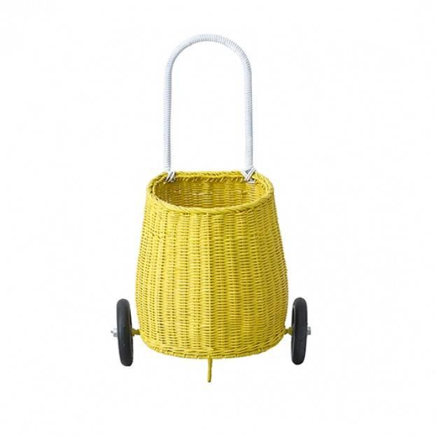 Olli Ella Luggy Basket Boodschappenwagen - Geel