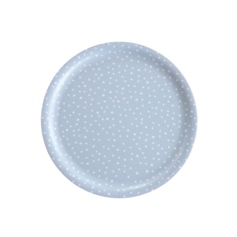 Nämä dienblad Lumi Snow Ø 24 cm (grey blue)