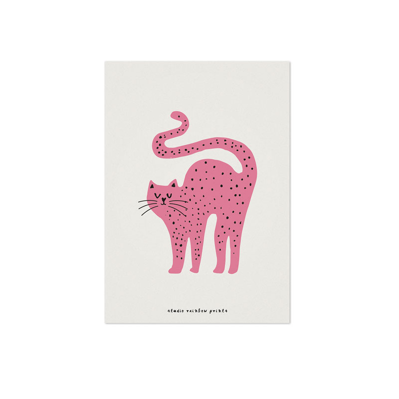Studio Rainbow Prints - A5 Poster Poes