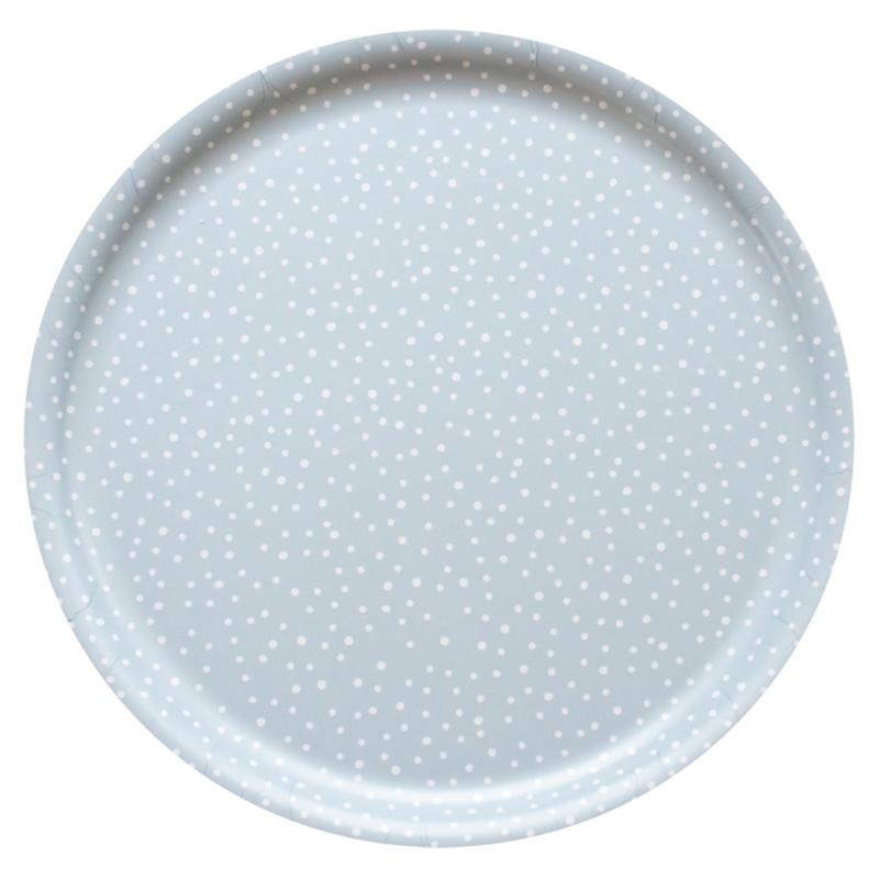 Nämä dienblad Lumi Snow Ø 35 cm (grey blue)