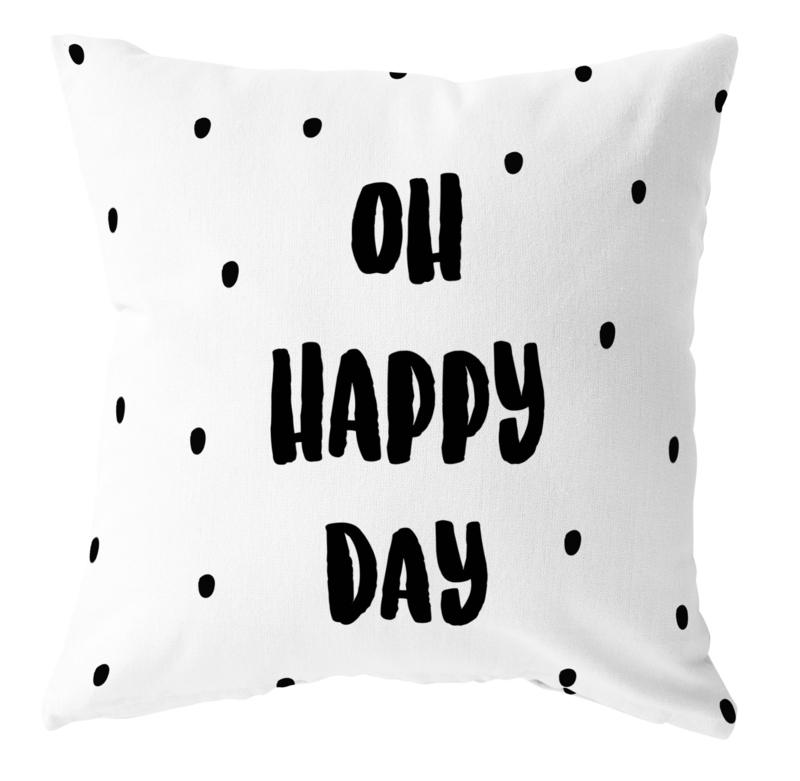 Label-R | Buitenkussen Oh Happy Day