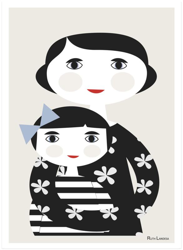Nämä - Print Maternity/Moederschap (A4)