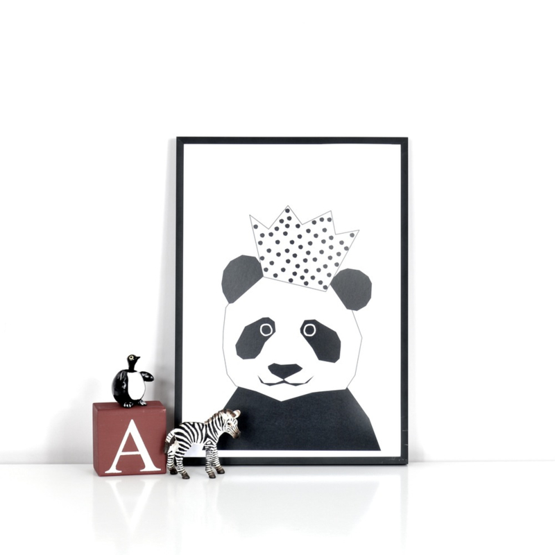 Ingrid Petrie Design - Party Panda print (A4)