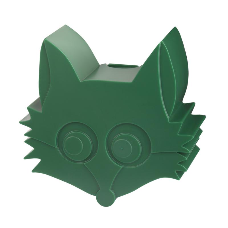Blafre | Snack doosje Fox (donkergroen)