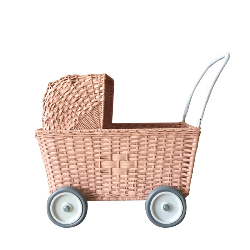 Olli Ella | Strolley Poppenwagen én boodschappenwagen (rose)