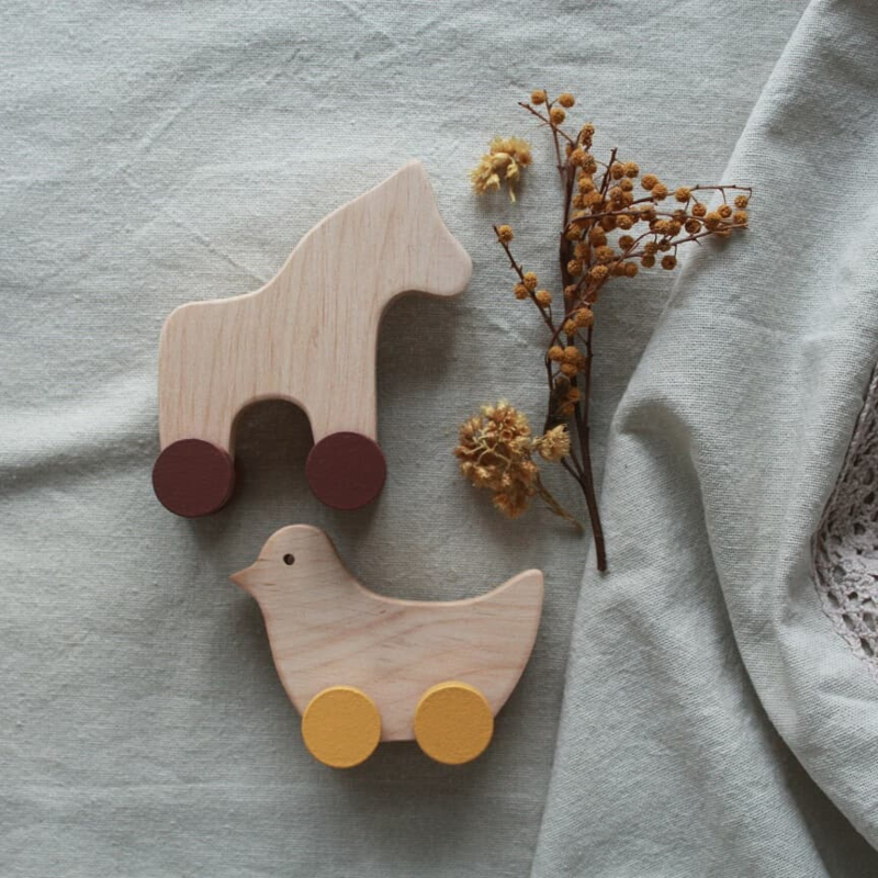 Pinch Toys Horse & Bird