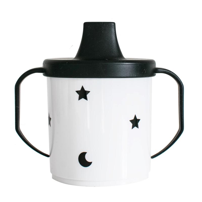 V&C Designs | Tuitbeker Moon and Stars (zwart)