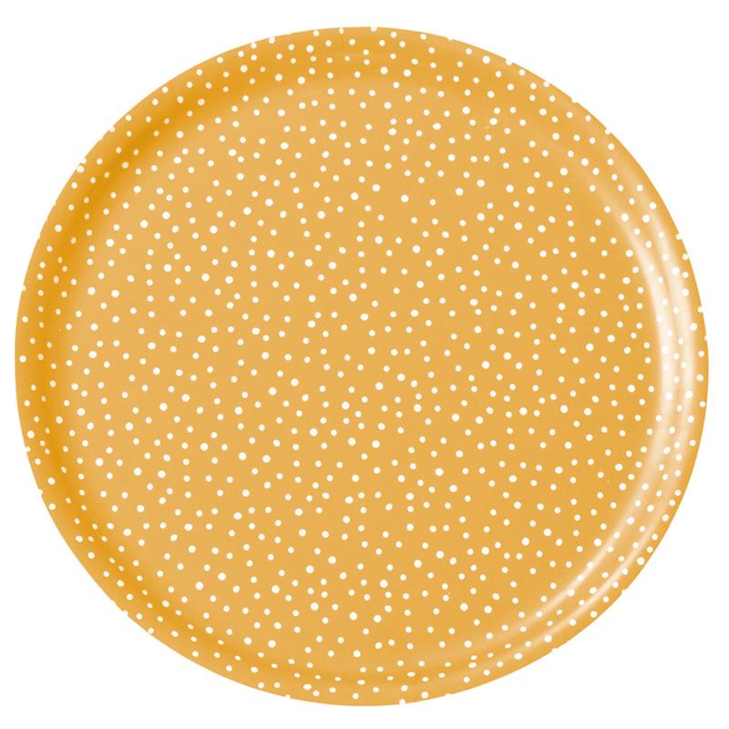 Nämä dienblad Lumi Snow Ø 35 cm (yellow)