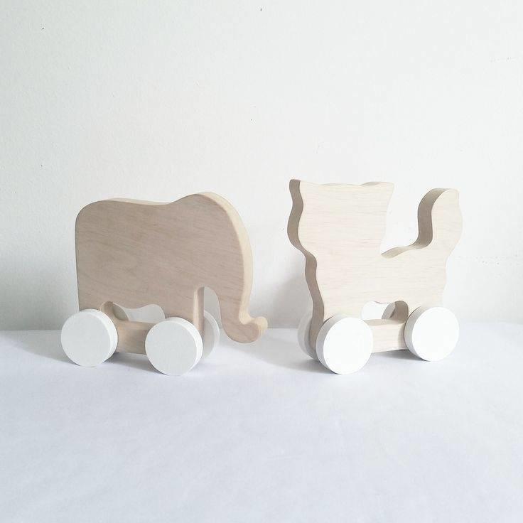 Pinch Toys Kat & Olifant