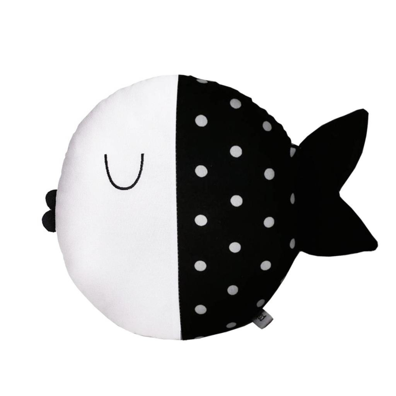 Pinch Toys Vis Wanda (zwart)