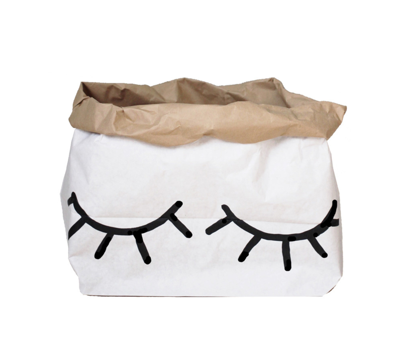 Tellkiddo Paper Bag Closed Eye (small)
