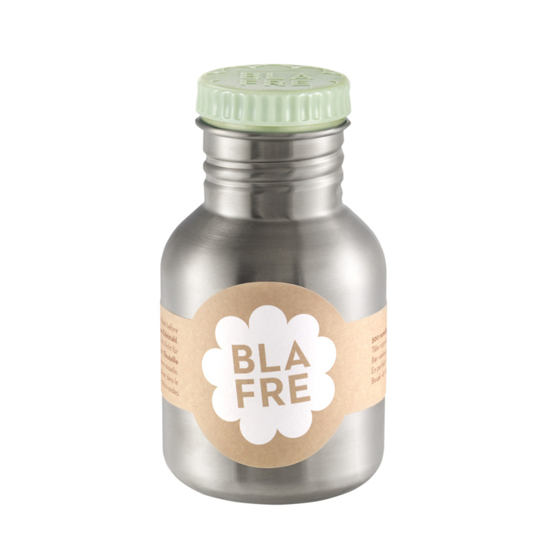 Blafre Drinkfles RVS 300 ml (lichtgroene dop)