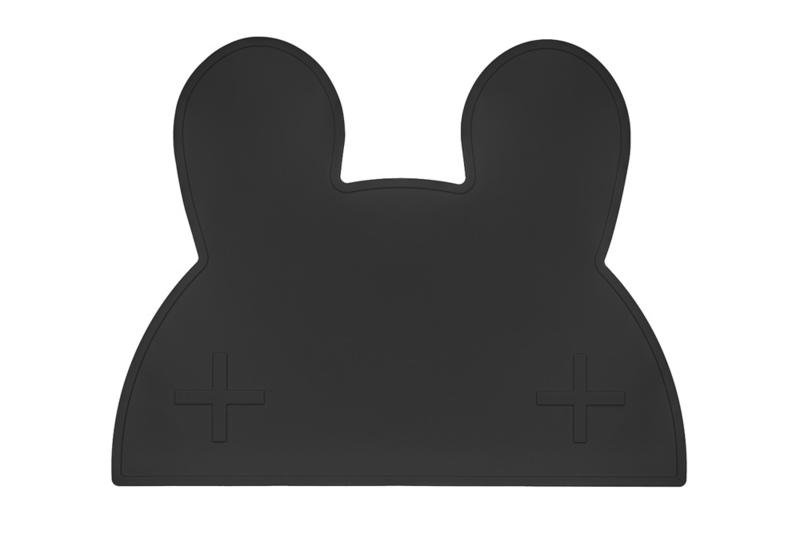 We Might Be Tiny placemat konijn (zwart)