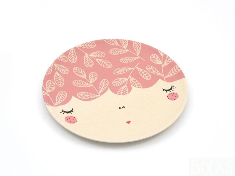 Yuuna   Bamboe Bord Face (roze)