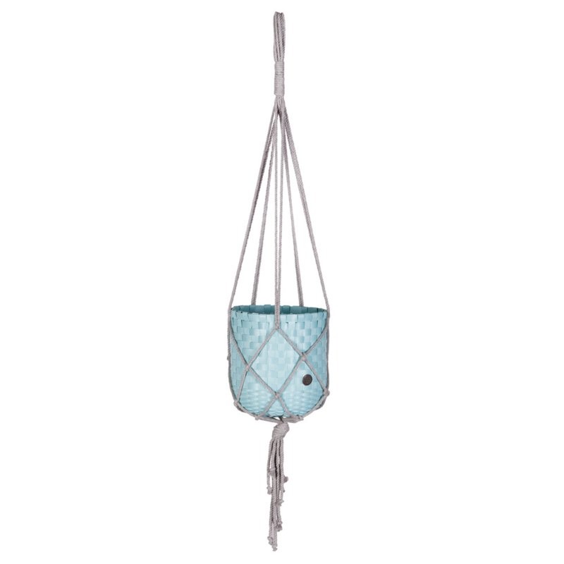 Handed By Dangle Plantenhanger  Ø 18 cm (powder blue)