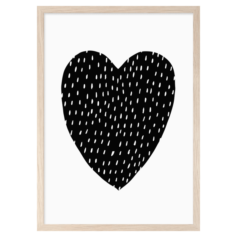 Mini Learners – Poster You are my heart (A3)