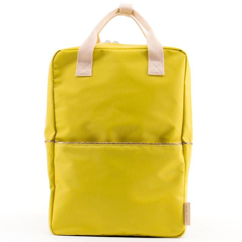 Sticky Lemon Rugzak Groot (fresh ocher / nude pink)