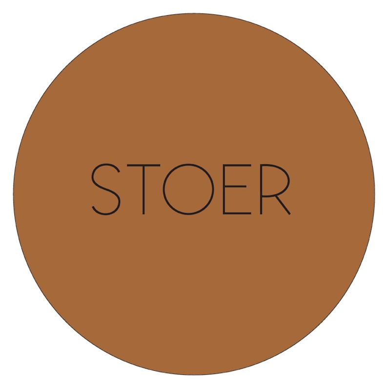 Label-R Kids | Muurcirkel Stoer (hazelbruin)