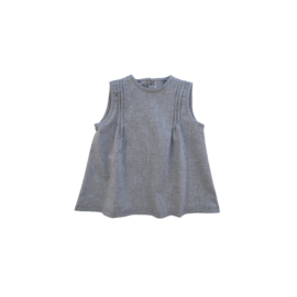 Chambray jareta top