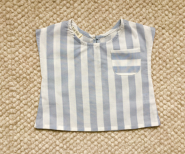 Balthazar blouse blue stripes