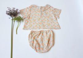 Blusa bebé / garden flowers