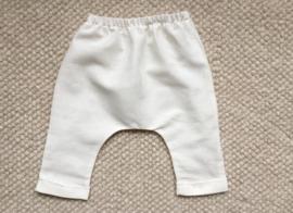 Gabrielle long pant / white linen
