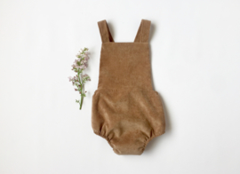 Otto playsuit / camel corduroy