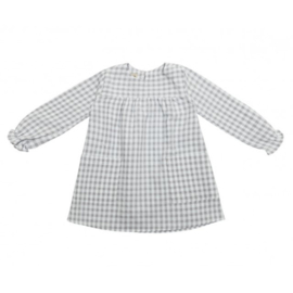 CAMILLE Dress - Pearl checks