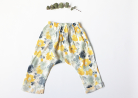 Gabrielle long pant - Aquarelle flower