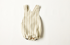 Nature romper stripe