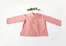 Camisa rayas coral
