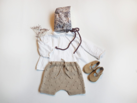 Handmade - Lilac Flowers Bonnet