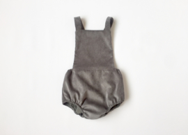 Otto playsuit / grey corduroy