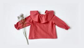 Sophie blouse / viyella red