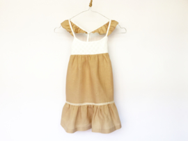 Saint Tropez dress latte linen