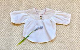Camisa canesú flores