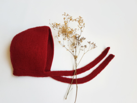 Handcrafted wool bonnet - 027