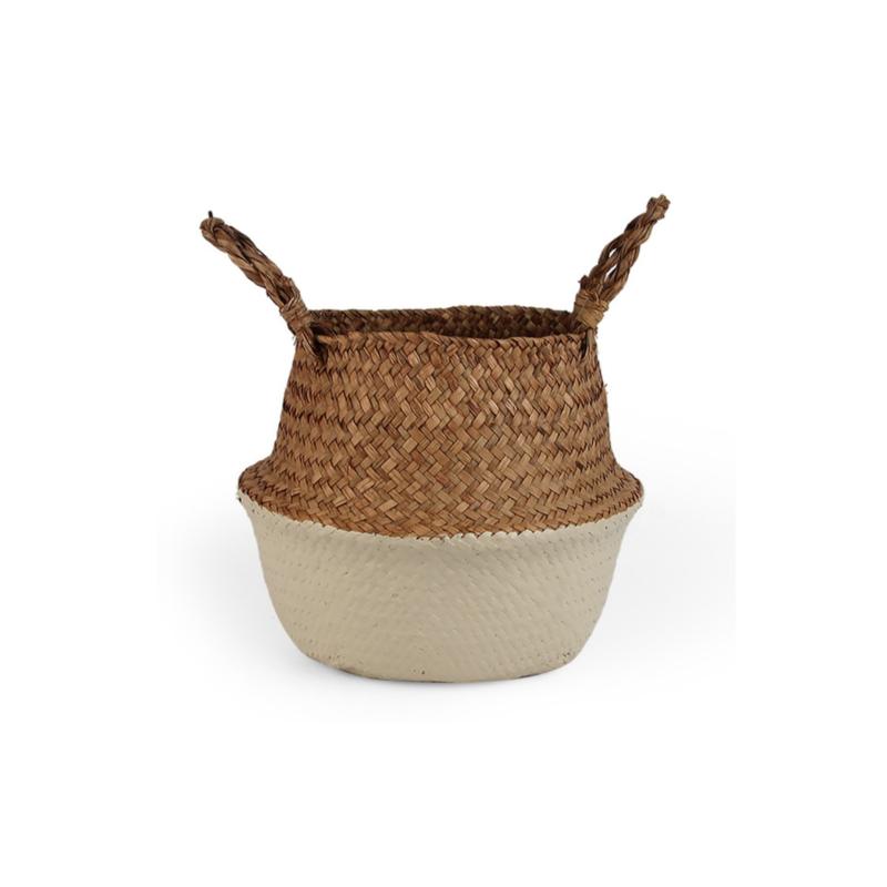 Wicker basket - Beige - ø 25 cm